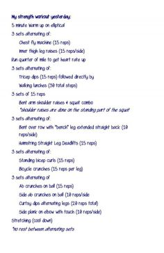Total Body Strength Training Workout (burn some calories!)