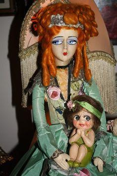 RARE 1920 Splash Me Carnival Doll from ribbonsantiques on Ruby Lane