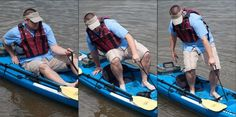 Pull-Up Strap Handle Kit by SEA-LECT Designs - Paddling.net Maybe this would help me get out instead of 'rolling' out lol