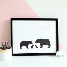Are you interested in our bear family print? With our personalised bear print you need look no further.