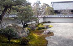 jardines minimalistas con piedras