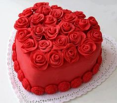 49 Best Heart Shaped Cakes Images Cake Birthday Heart Cakes