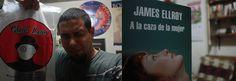 """Y llegó desde las librerías Qué Leo (Chile) mi regalito de parte de Raomely por el Día del Libro: """"A la caza de la mujer"""" de James Ellroy"""