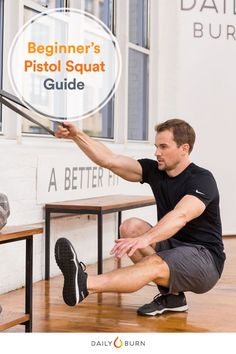 Pistol squats demand strength, balance and mobility — and yup, they're hard as hell. Here's your complete how-to guide to completing your first pistol squat.