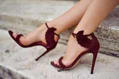 marsala wedding shoe - brides of adelaide