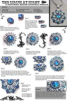 Free tutorial.   Chrysina Beads