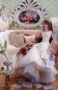 Wedding Doll, Barbie Wedding, Fashion Royalty Dolls, Fashion Dolls, Barbie Mode, Barbie Diorama, Vintage Barbie Clothes, Bridal Gowns, Wedding Dresses