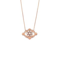 French Lace Pendant