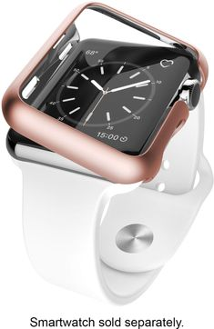 Shop X-Doria Revel Protective Cover for Apple Watch™ Blush Gold at Best Buy. Find low everyday prices and buy online for delivery or in-store pick-up. Apple Watch Face Cover, Cute Apple Watch Bands, Apple Watch 38, Rose Gold Apple Watch, Apple Watch 42mm, Apple Watch Faces, Apple Watch Series, Apple Watch Fashion, Iphone Watch