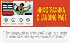 7 постов про лендинг пейдж. Подборка #инфографики ~ #Инфографика в примерах