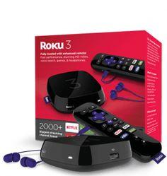 Roku 3 in box