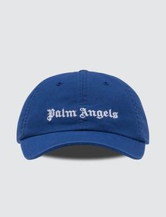 c6b2a1d8 Palm Angels - Classic Logo Cap Palm Angels, Men's Style, Blue And White,