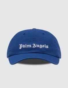 3924f3f7da04 Palm Angels - Classic Logo Cap Palm Angels, Men's Style, Blue And White,