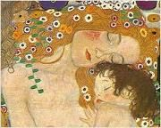 """The Kiss was painted by the Austrian Symbolist painter Gustav Klimt between 1907 and 1908, the highpoint of his """"Golden Period"""", when he painted a number of works in a similar gilded style."""
