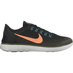 san francisco 800f7 1e726 Men s Free RN Distance BLACK BRIGHT MANGO-DARK LODEN 12.0     For more  information, visit image link. (This is an affiliate link)  NikeShoes