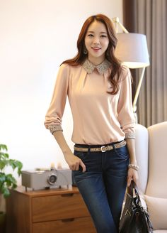 Shop our best value Korean Office Fashion on AliExpress. Check out more Korean Office Fashion items in Women's Clothing, Jewelry & Accessories, Shoes, Education & Office Supplies! And don't miss out on limited deals on Korean Office Fashion! Moda Fashion, Girl Fashion, Fashion Outfits, Womens Fashion, Style Fashion, Moda Outfits, Indian Designer Outfits, Korean Outfits, Korean Clothes