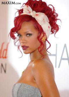 Rihanna Hair Scarf Rihanna. RiRi #Rihanna, #Riri, #pinsland, https://apps.facebook.com/yangutu
