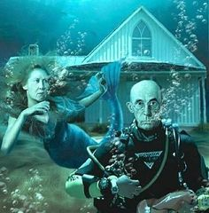 Underwater Gothic to go with underwater self portraits :)