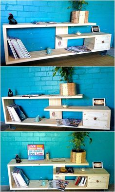 pallet entry way table idea