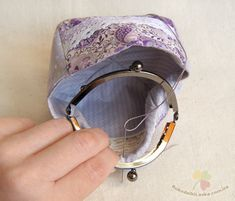 How to sew the coin pouch