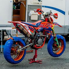 Who would shred this? RATE IT! Ktm Dirt Bikes, Cool Dirt Bikes, Ktm Motorcycles, Bmx Bikes, Motorcycle Dirt Bike, Pit Bike, Motorcycle Outfit, Supermoto Ktm, Dirt Scooter