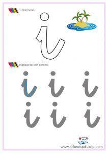 VOCALES Arabic Calligraphy, Leo, Early Education, Preschool Alphabet Activities, Letter Activities, Preschool Worksheets, Fun Activities, Index Cards, Letters