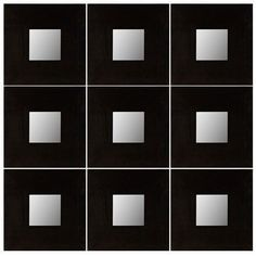 9 IKEA MALMA Modern Art Design Wall Mirror Decor Wood Square U-Pick COLOR #Malma #Modern