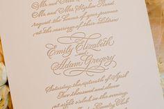 gorgeous invitation