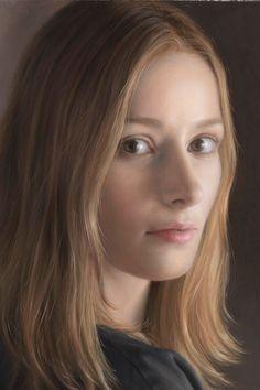 Ryo Shiotani 塩 谷 亮, 1975 Hyper Realistic Paintings, Your Paintings, Hyperrealistic Art, Japanese Painting, Portrait Art, Portraits, Realism Art, Face Art, Artist At Work