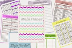 Gina's Blog - Mein Planer - DINA 4 oder DINA 5 - Download Link - 58 Seiten