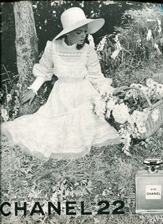 Romantic Chanel No. 22 Perfume of 1968 || Finnfemme Blog