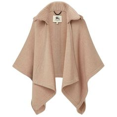 Burberry Wool Cashmere Cape ❤ liked on Polyvore featuring outerwear, coats, burberry, casacos, coats & jackets, jackets, beige cape coat, wool cashmere blend coat, cape trench coat and trench cape