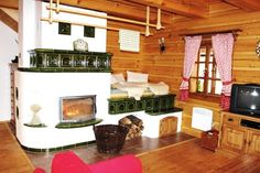 Can it get any cozier? Modern Fence, Rocket Stoves, French Cottage, Design Case, Cozy House, Save Energy, Building A House, Modern Design, Rustic