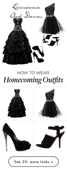 """""""Quinceanera (15)"""" by mariar559 on Polyvore featuring eFashion and Casadei"""