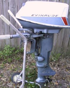10 hp Evinrude Sportwin Outboard Boat Motor For Sale