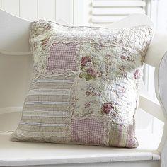 lavender quilt pillow