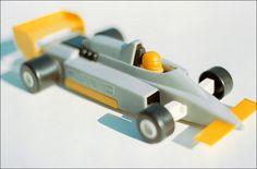 "Proteus - ""transformobile"" toy set - 2. Sport car. Created by romanian designer Catalin Urcan for ""Viitorul"" Enterprise (now, Plastor) - city Oradea, Romania in 1985-1988"