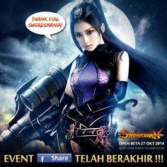 Swordsmania,  Event Hero Pack Gratis [part 1] telah berakhir!  Untuk 20 pemenang yang beruntung akan mendapatkan HERO PACK senilai Rp 500.000!!!  info lengkap pemenang: http://goo.gl/Q6yKoZ  Ayo ajak teman-temanmu untuk meramaikan Official Grup Swordsman Online Indonesia : http://goo.gl/vjNqkp