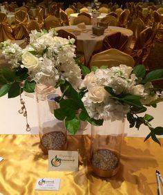 Centerpiece Flowers #Mancusosweddings.com #Wedding #Flowers #Detroit MI