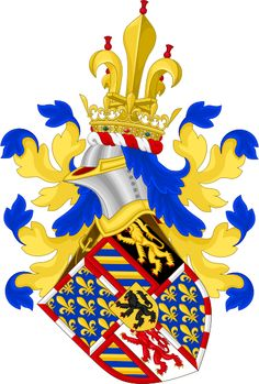 Coat of arms of dukes of Burgundy