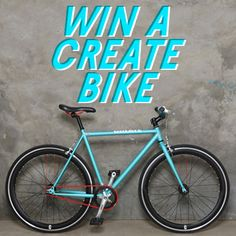 Fancy your chances? Repin and click the pic, then enter with code UOBICYCLE - you could win a brand new Create bike! c/d 1/8/12