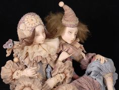 Tamara Pivnyuk Art Dolls / Dolls / Коломбина и Пьеро