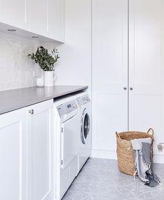 Laundry design, laundry area, laundry room cabinets, laundry in bathroom,. Outside Laundry Room, Laundry Nook, Laundry Room Cabinets, Laundry Room Organization, Laundry In Bathroom, Outside Rooms, Laundry Decor, Laundry Closet, White Laundry Rooms