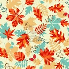 autumn leaves design || #pattern #fall #orange #nature
