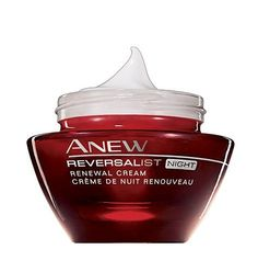 Anew Reversalist Night Renewal Cream by Avon, http://www.amazon.ca/dp/B005IOZLRU/ref=cm_sw_r_pi_dp_EEWzrb19VKF1Z