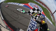 "NASCAR Drivers Have a ""Days of Thunder"" Moment at AutoClub Speedway"