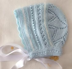Blog Abuela Encarna Knitting For Kids, Baby Knitting Patterns, Floral Wallpaper Iphone, Baby Staff, Knit Crochet, Crochet Hats, Baby Bonnets, Baby Cardigan, Kids Hats