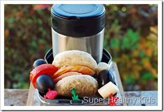Our top 10 ideas for sending lunch in a thermos! #healthylunch #schoollunch #packablelunch #thermos from Super Healthy Kids