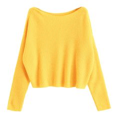 Oversized One Shoulder Pullover Sweater Yellow ($21) ❤ liked on Polyvore featuring tops, sweaters, zaful, yellow sweater, oversized pullover, oversized pullover sweater, over sized sweaters and oversized sweater
