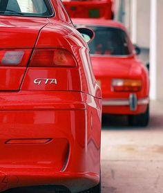 Alfa Romeo 156 GTA & ALfa Romeo GTV
